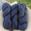 5 ks Merino Worsted - BLUE GRAPHITE, 192 m/100 g (100% merino)